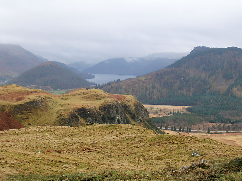 Thirlmere from High Rigg (Birkett)