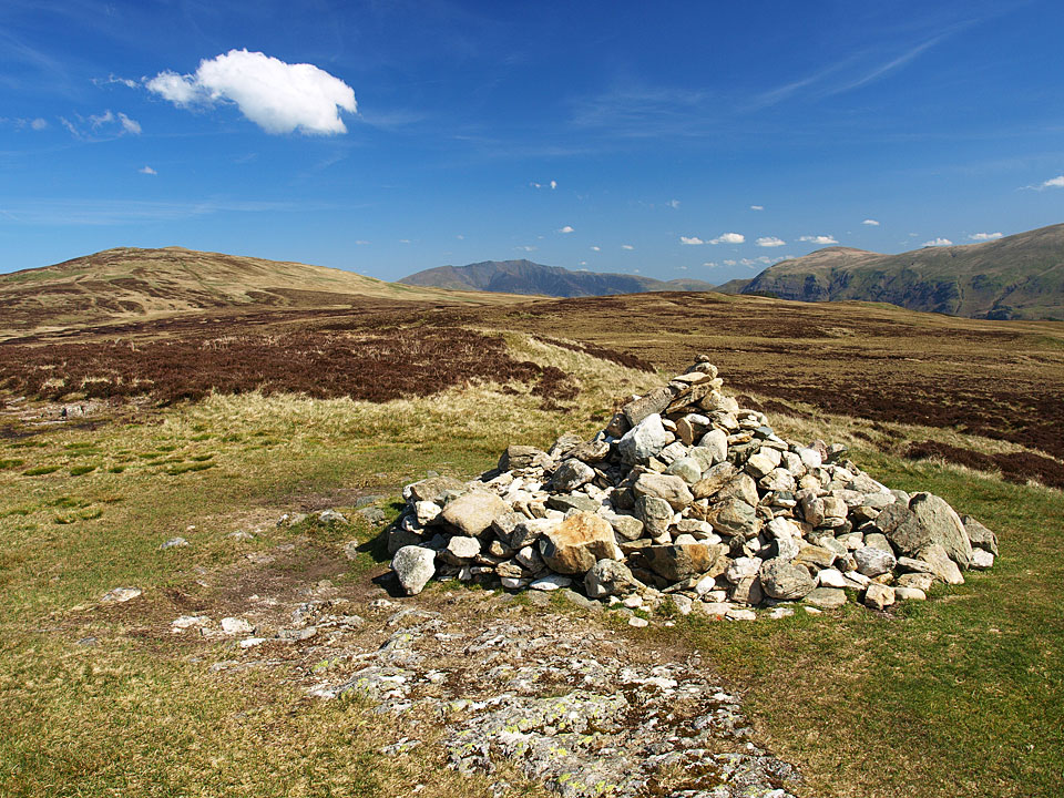 High Seat, Blencathra and Clough Head from High Tove