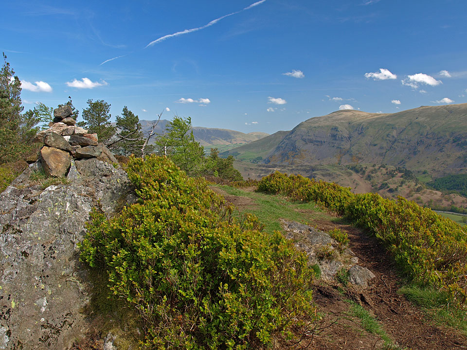 The summit of Raven Crag