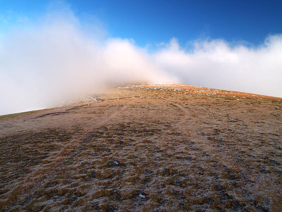 On the summit of Stybarrow Dodd