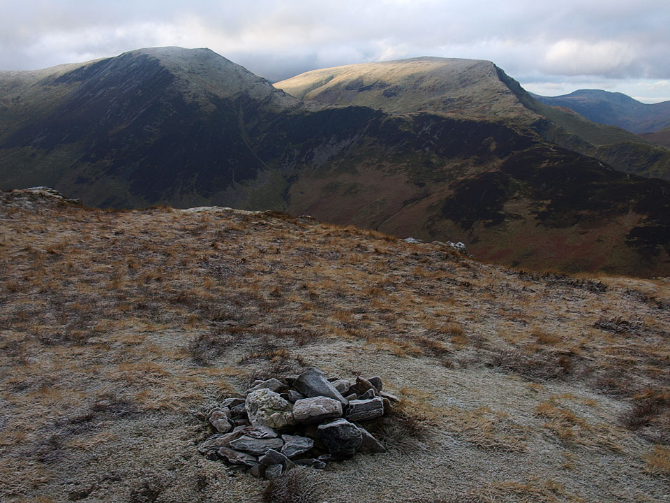 Hindscarth and Robinson from the summit of Maiden Moor