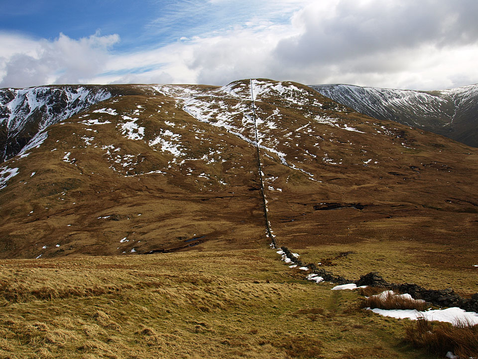 The Knott from the descent of Rest Dodd