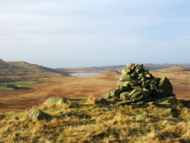 Devoke Water from the summit of Great Worm Crag