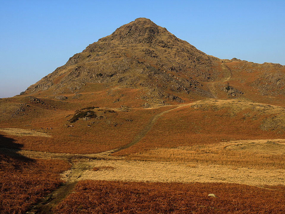Stickle Pike, the perfect mountain shape