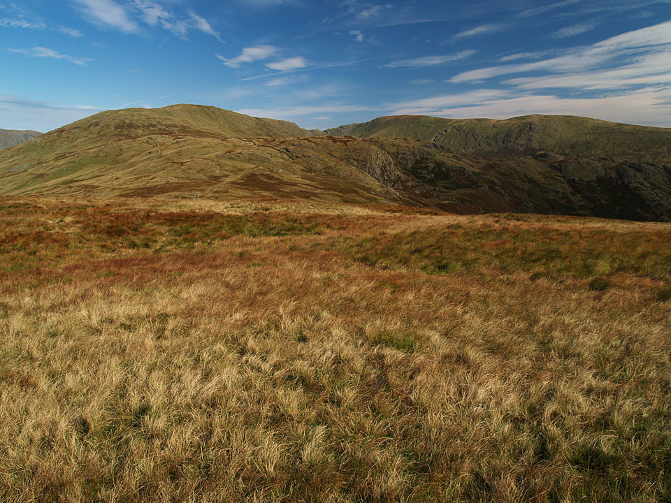 The Kentmere Horseshoe fells from Sallows