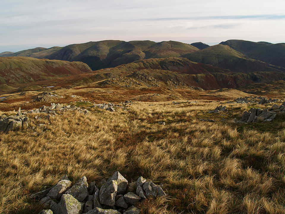 The Helvellyn massif from Codale Head