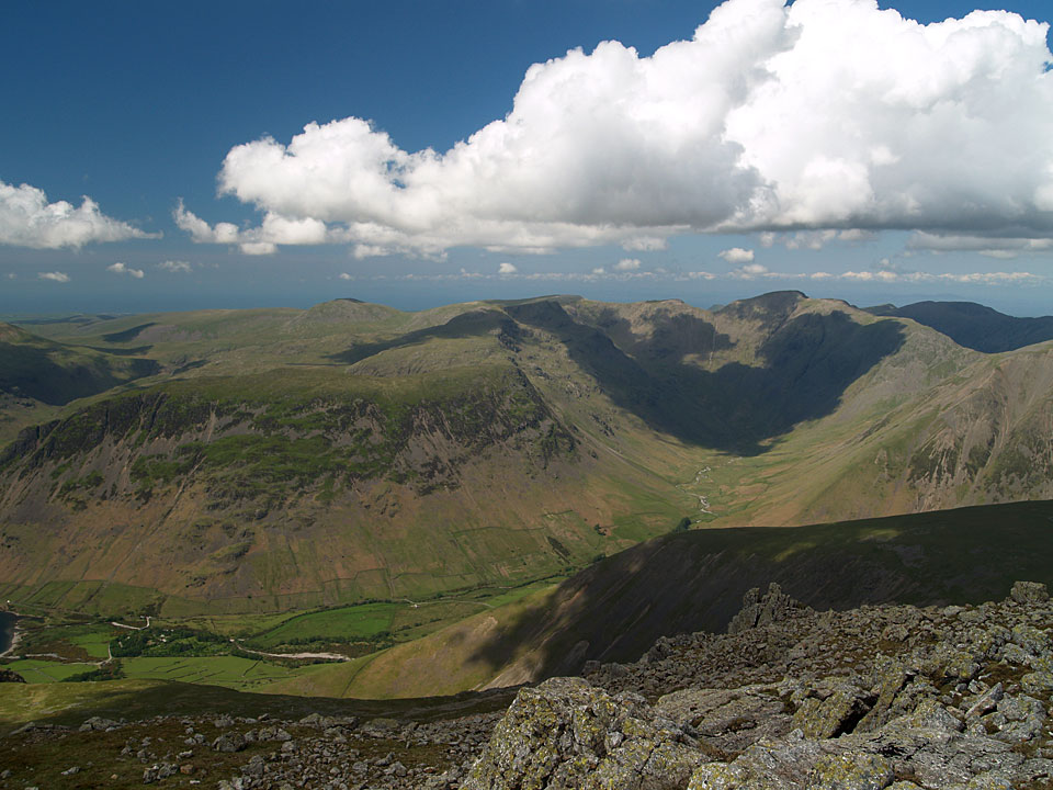 The Mosedale fells from Scafell