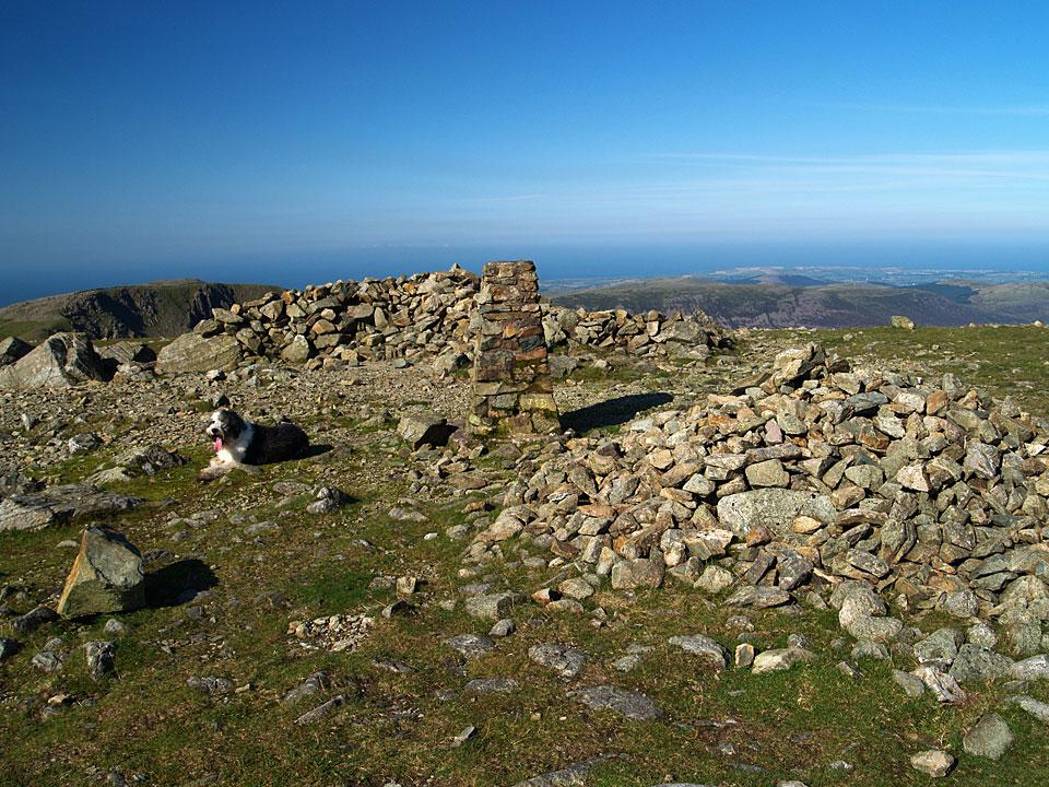 The summit of Pillar