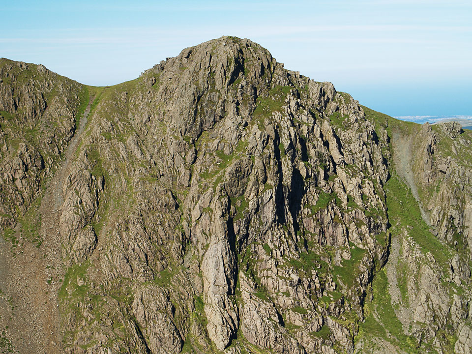The east face of Steeple from Black Crag
