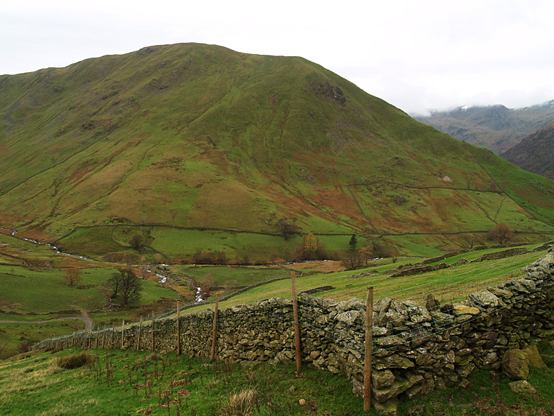 Hartsop Dodd from the climb up to Brock Crags