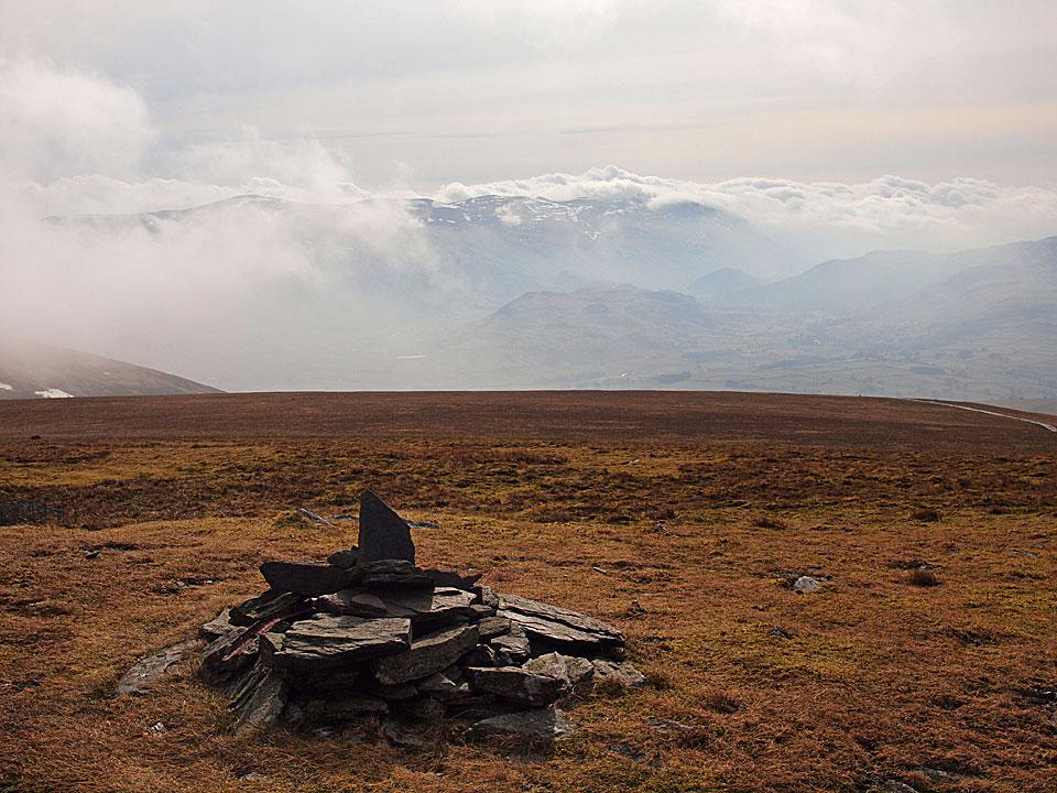 The Helvellyn ridge from Jenkin Hill
