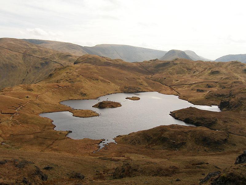 Angle Tarn from Angletarn Pikes southern summit