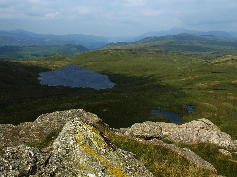 Blea Tarn from Standing Crag