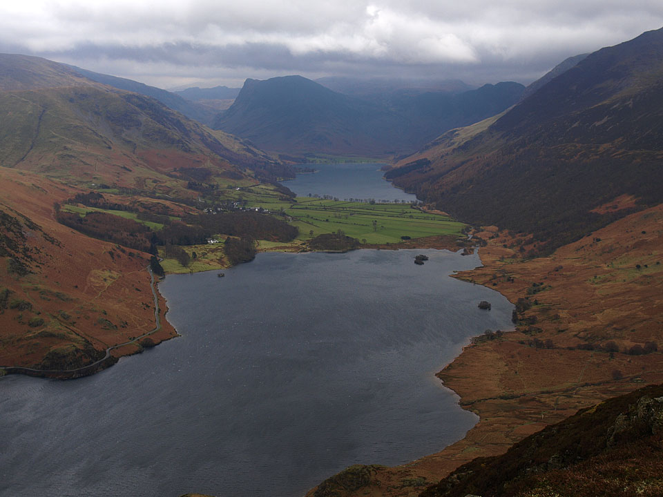 The Buttermere Valley from the South Top