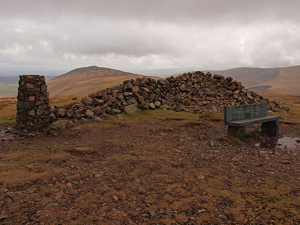 The summit of High Pike