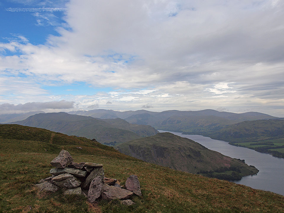 Bonscale Pike summit cairn