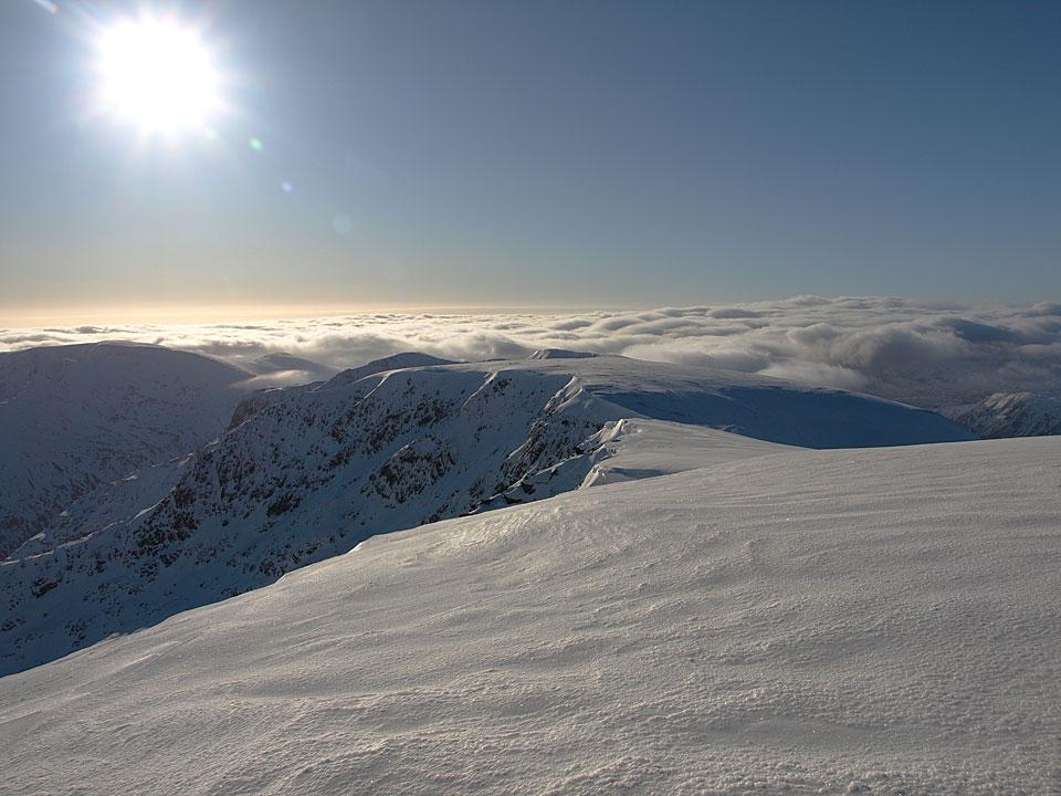 Beautiful sunshine, beautiful inversion, beautiful snow