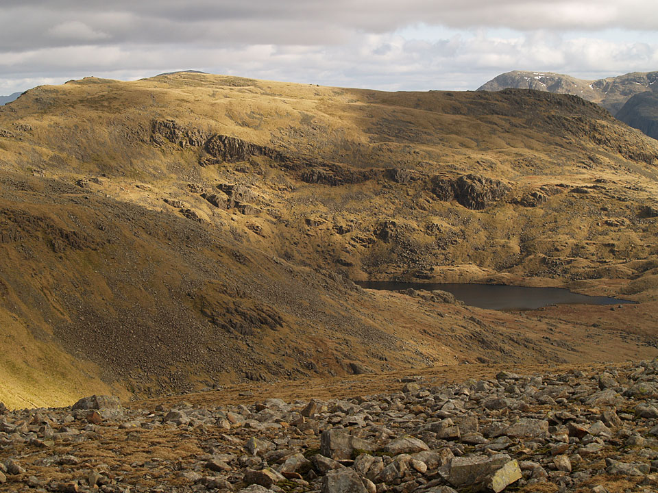 Red Pike and Scoat Tarn from Haycock