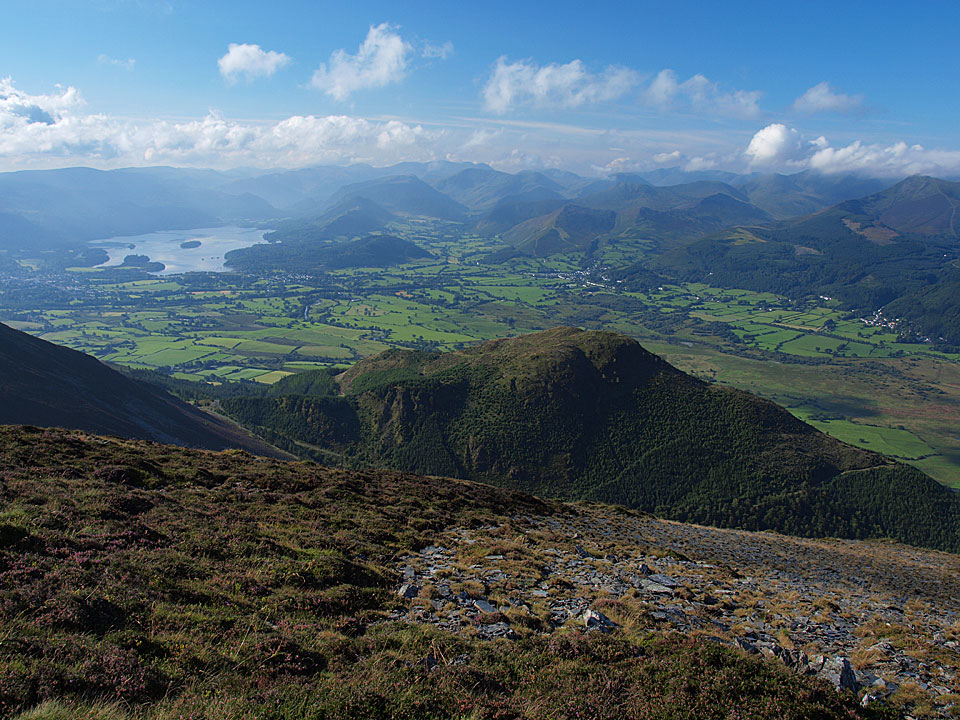 The view from Ullock Pike