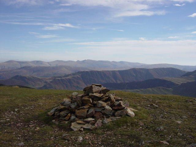 The summit of Wandope.