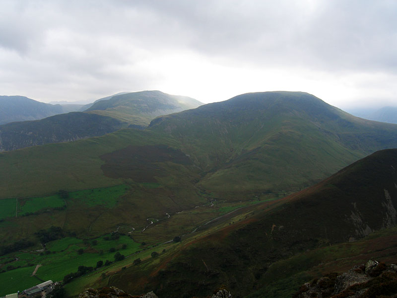 Hindscarth and Robinson from Ard Crags