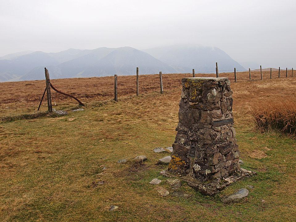 The summit of Fellbarrow