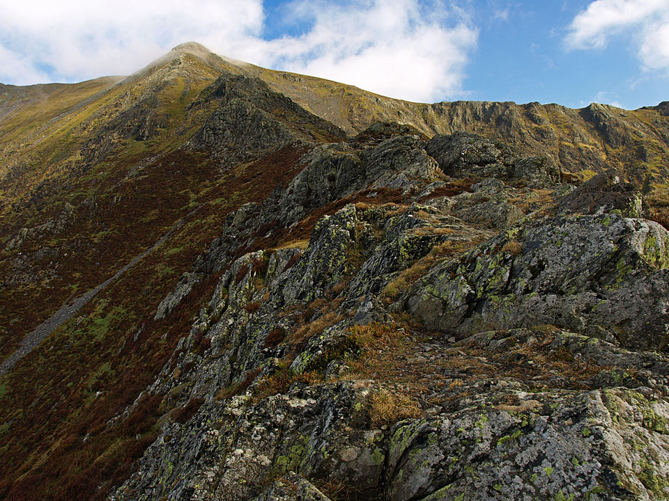 Hall's Fell Ridge, an excellent way to reach the top