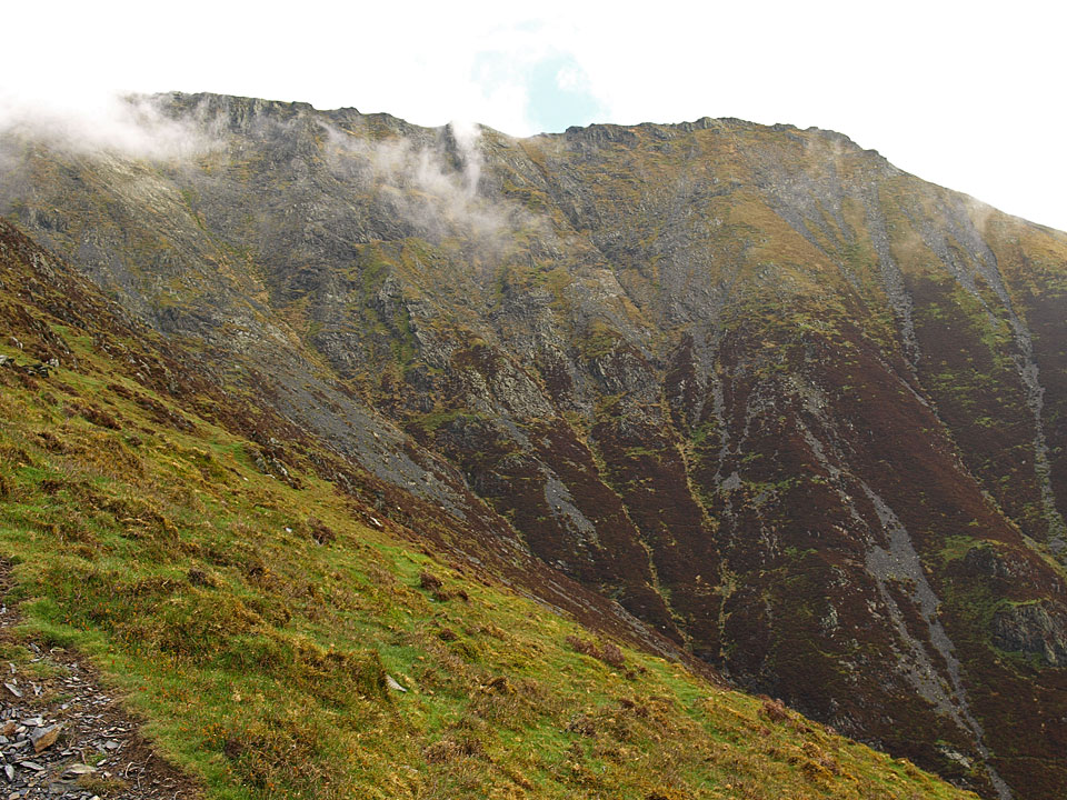 Doddick Fell from Hall's Fell Ridge