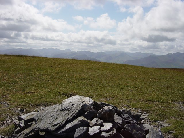 Lonscale Fell summit.