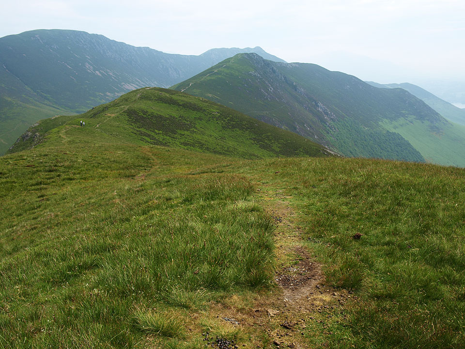 Heading for Ard Crags from Knott Rigg