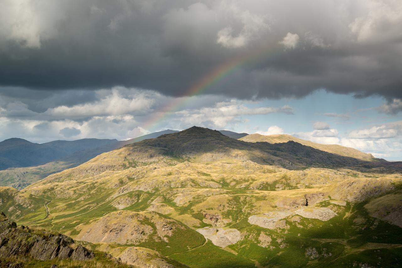 Rainbow over Caw