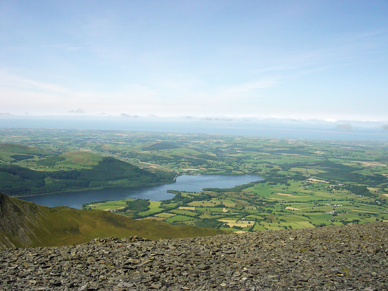 Bassenthwaite Lake and Sale Fell from Skiddaw