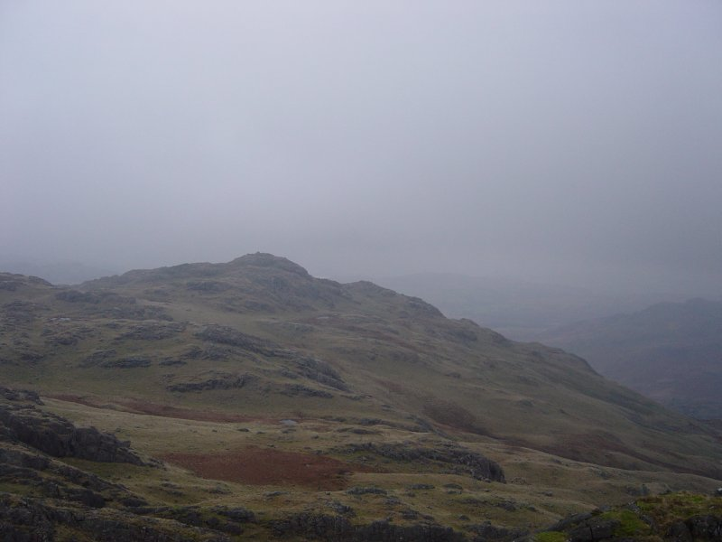 Blake Rigg from the summit of Long Crag