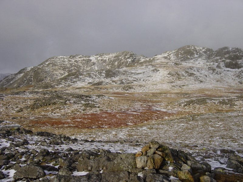 The Crinkle Crags from Stonesty Pike