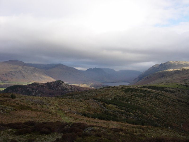 Wasdale Head from Irton Pike