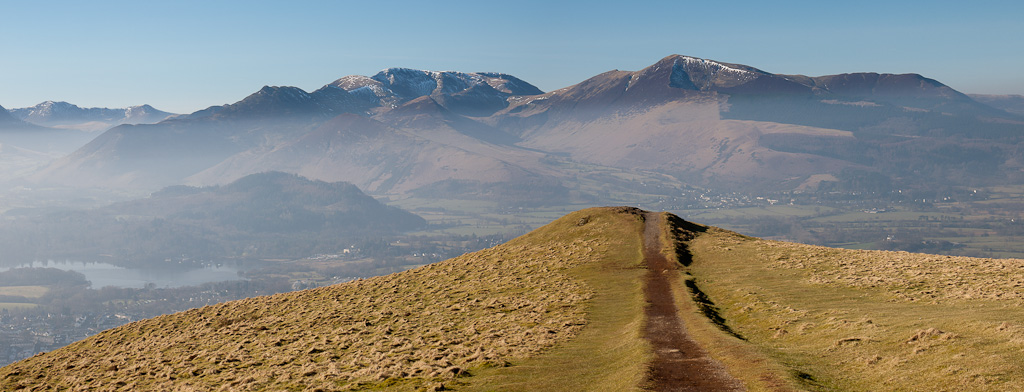 The Coledale fells from Latrigg