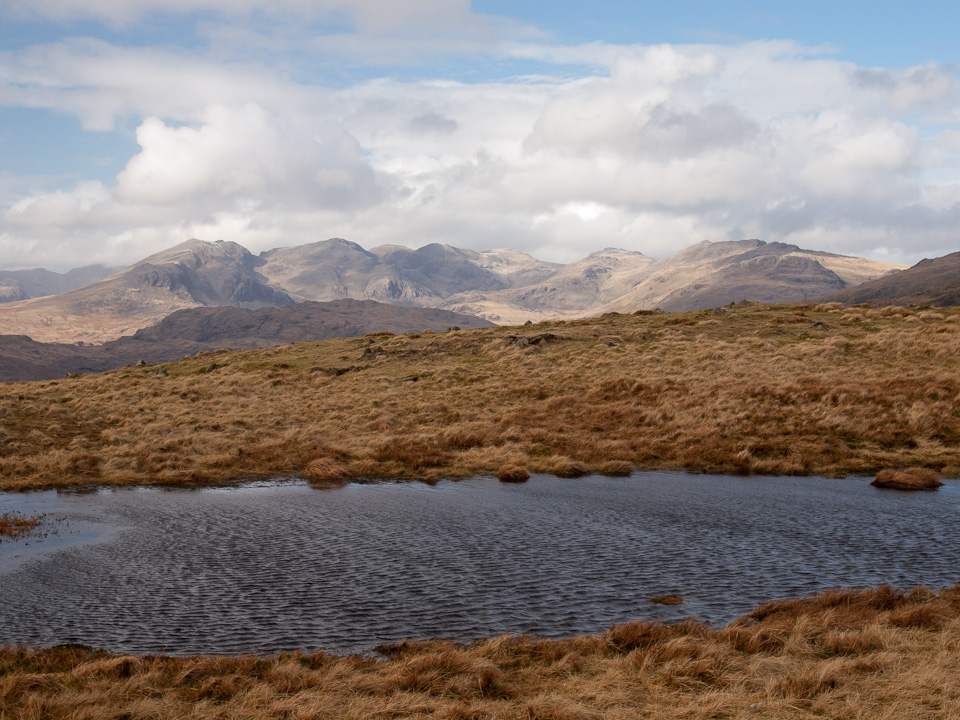 An un-named tarn on White Maiden