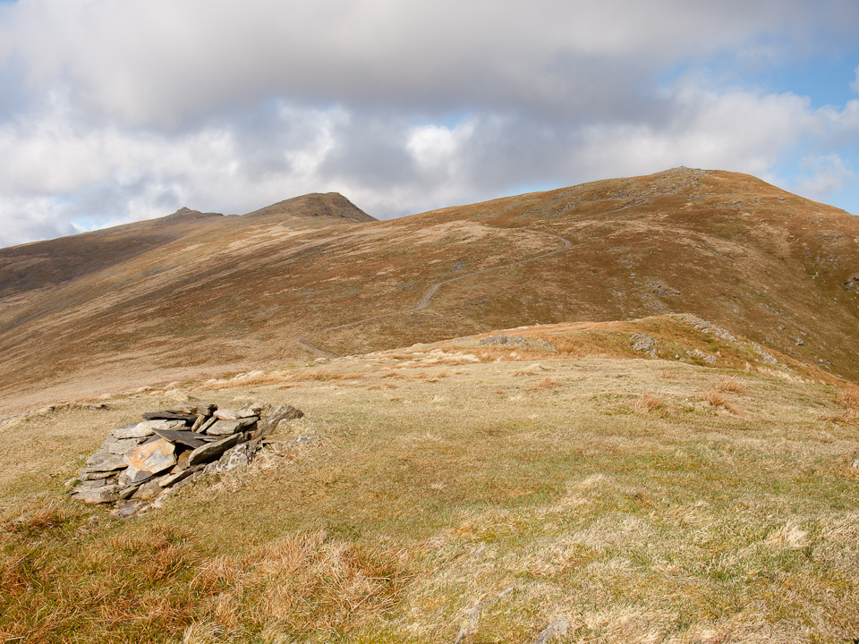 The top of Walna Scar
