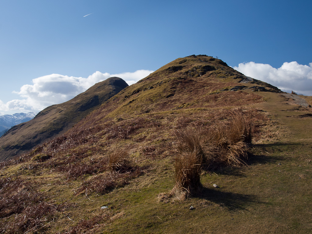 The twin peaks of Skelgill Bank and Catbells
