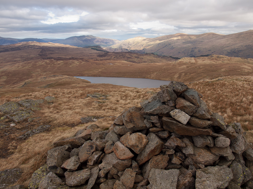Blea Tarn  from Low Saddle
