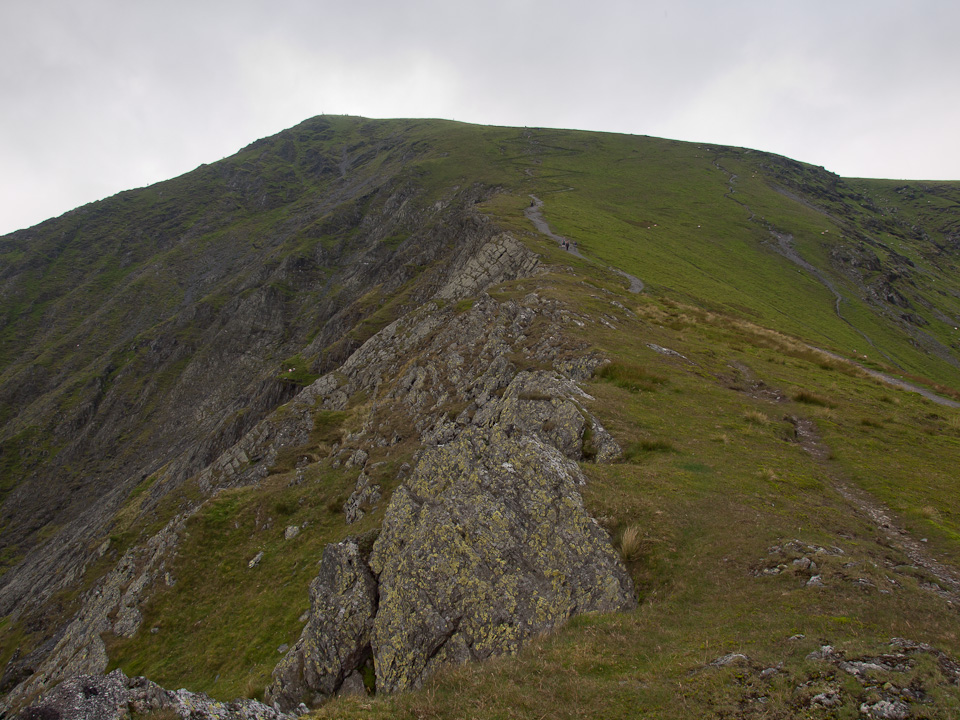 Blencathra summit from Doddick Fell Top