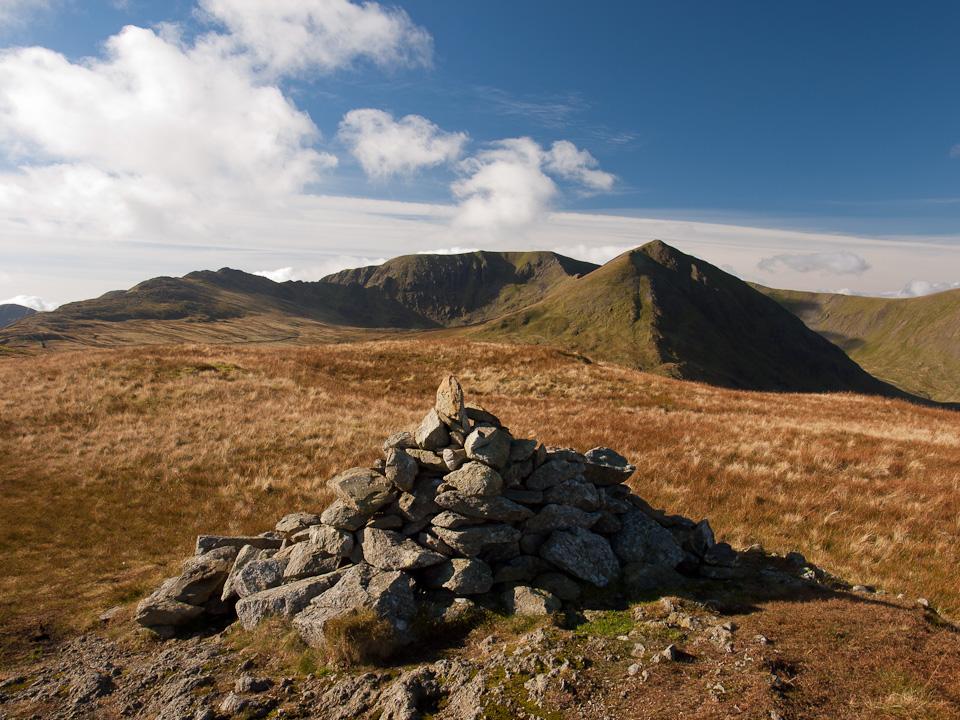 Birkhouse Moor summit