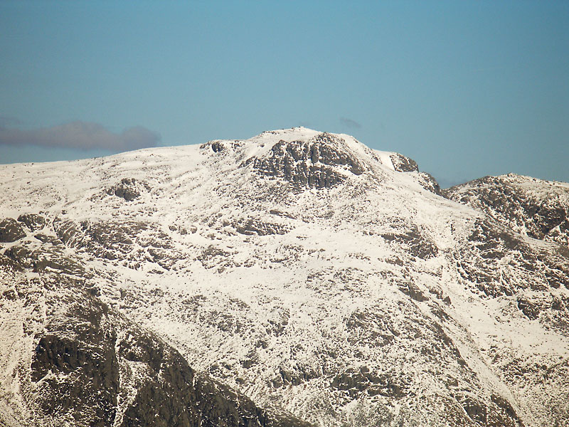 Scafell Pike from Harter Fell