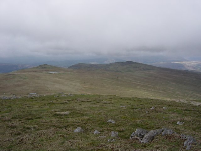 Stainton Pike, White Pike, Woodend Height and Yoadcastle from the ascent of Whitfell