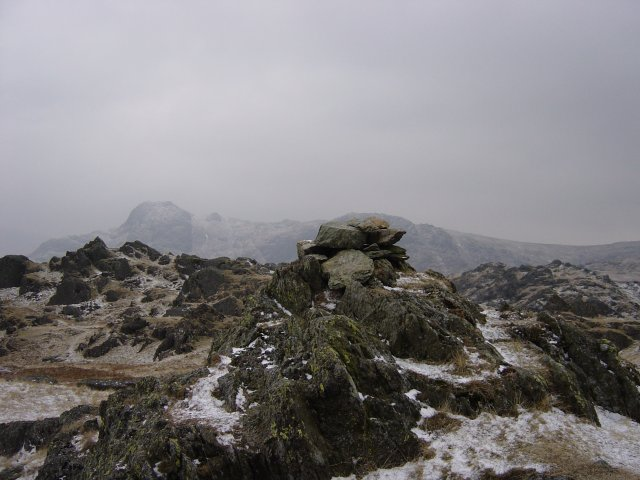 Pike O'Stickle from Blea Rigg summit