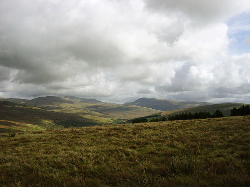 Seatallan, Haycock and Caw Fell from Cold Fell