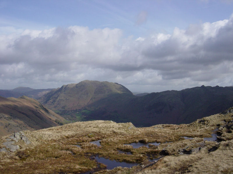 Place Fell from Gale Crag summit