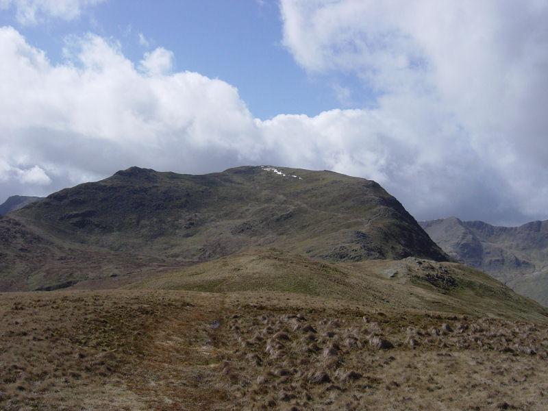 Gavel Pike and Saint Sunday Crag from Birks