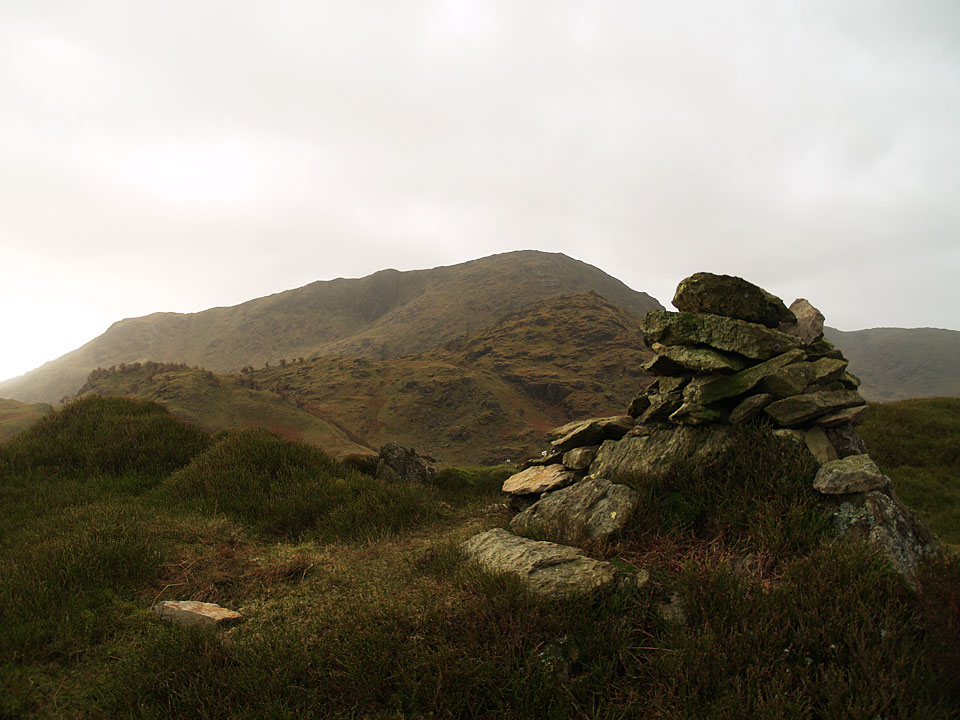 Wetherlam from the summit of Great Intake