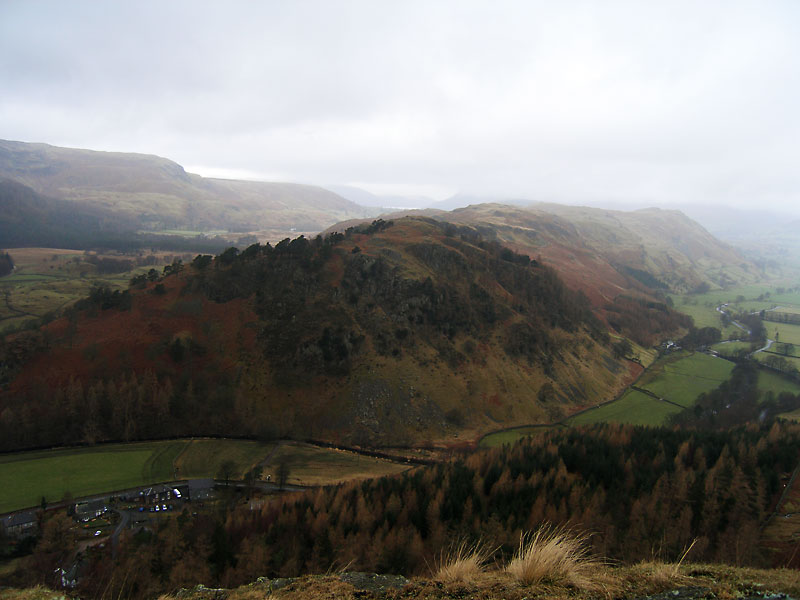 High Rigg from Castle Rock
